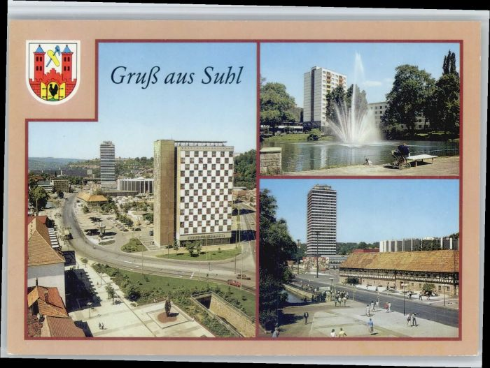 Suhl Thueringer Wald Suhl  * / Suhl /Suhl Stadtkreis