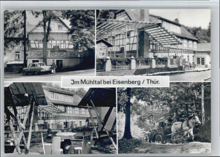 Eisenberg Thueringen Eisenberg Muehltal * / Eisenberg /Saale-Holzland-Kreis LKR