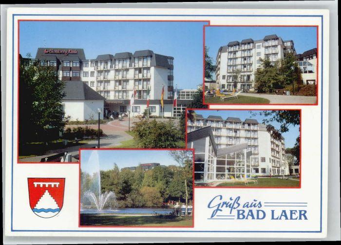 Bad Laer Bad Laer Wappen * / Bad Laer /Osnabrueck LKR