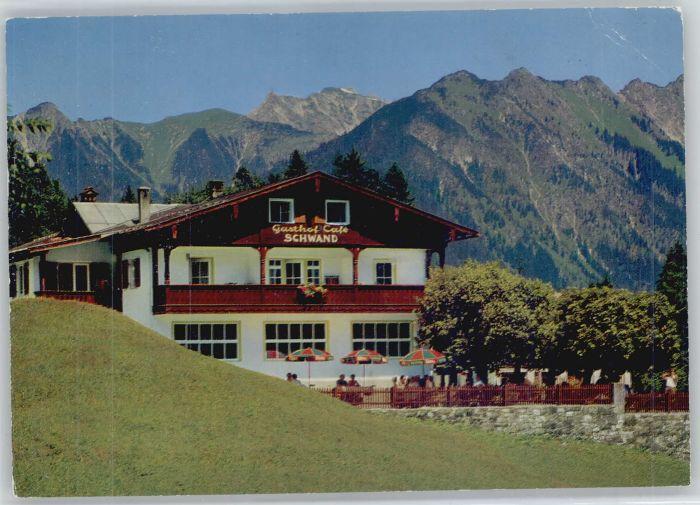 Oberstdorf Oberstdorf Gasthof Cafe Schwand x / Oberstdorf /Oberallgaeu LKR