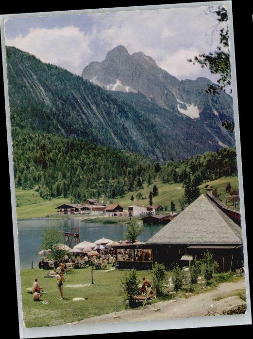 Mittenwald Bayern Mittenwald Lautersee * / Mittenwald /Garmisch-Partenkirchen LKR