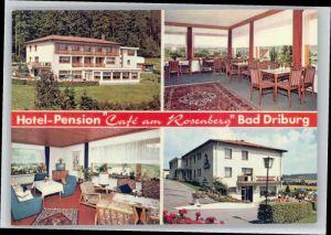 Bad Driburg Bad Driburg Hotel Pension Cafe am Rosenberg * / Bad Driburg /Hoexter LKR