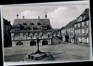 Haslach Kinzigtal Haslach Kinzigtal Marktplatz Rathaus  x / Haslach Kinzigtal /Ortenaukreis LKR