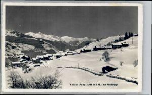Pany Pany Hochwang * / Pany Luzein /Bz. Praettigau-Davos