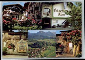 Neubeuern Neubeuern Restaurant Cafe Haschl Alm x / Neubeuern Inn /Rosenheim LKR