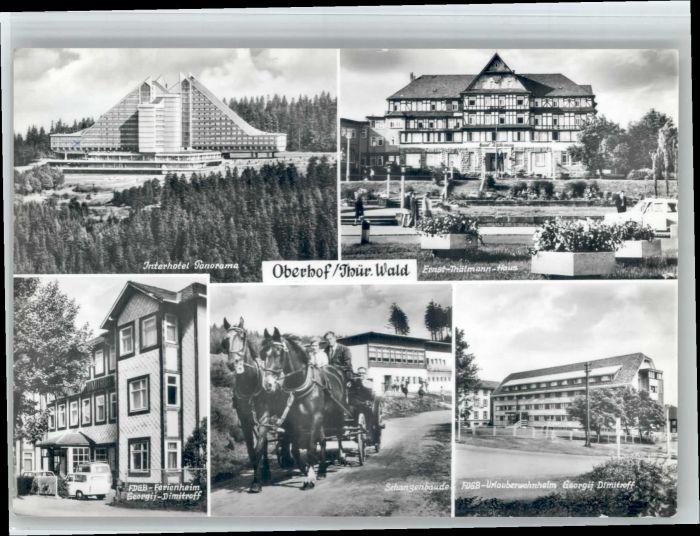 Oberhof Thueringen Oberhof  x / Oberhof Thueringen /Schmalkalden-Meiningen LKR