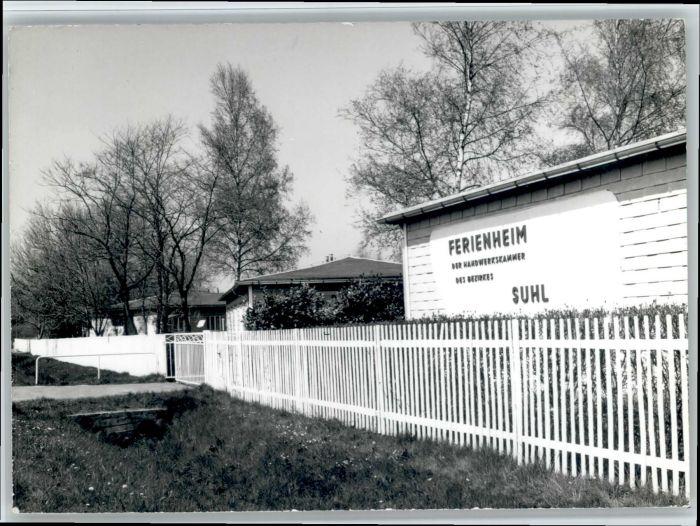 Suhl Thueringer Wald Suhl Ferienheim Handwerkskammer * / Suhl /Suhl Stadtkreis