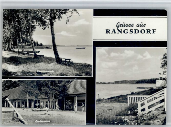 Rangsdorf Rangsdorf Badeanstalt x / Rangsdorf /Teltow-Flaeming LKR
