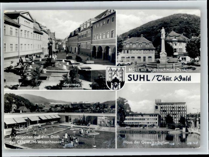 Suhl Thueringer Wald Suhl  x / Suhl /Suhl Stadtkreis