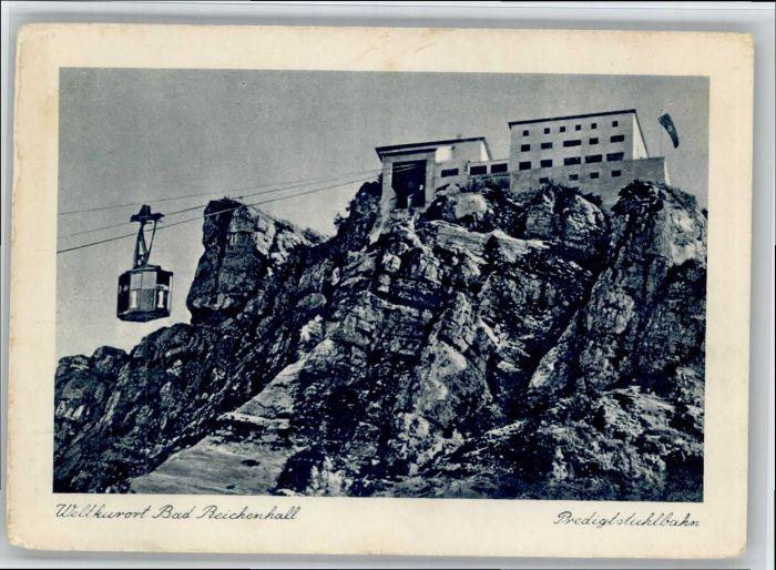 Bad Reichenhall Bad Reichenhall Predigtstuhlbahn * / Bad Reichenhall /Berchtesgadener Land LKR