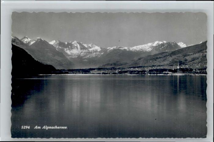 Alpnach Dorf Alpnach Dorf See x / Alpnach Dorf /Bz. Obwalden