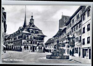 Stein Rhein Stein Rhein Rathausplatz * / Stein Rhein /Bz. Stein