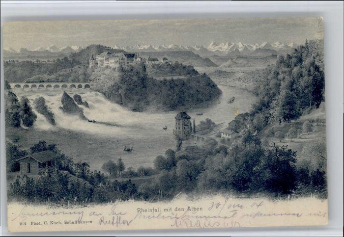 Schaffhausen SH Schaffhausen Rheinfall * / Schaffhausen /Bz. Schaffhausen