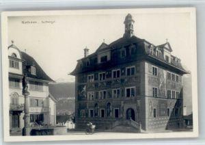 Schwyz Schwyz Rathaus * / Schwyz /Bz. Schwyz
