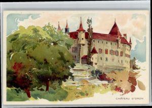 Oron-le-Chatel Oron-le-Chatel Schloss  * / Oron-le-Chatel /Bz. Oron