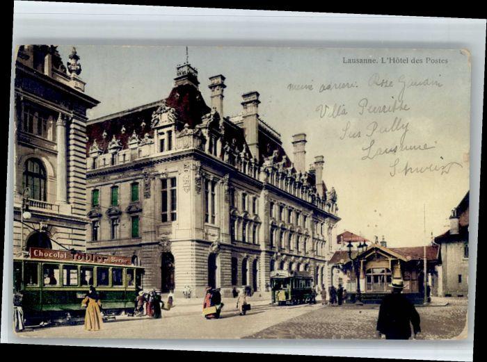 Lausanne VD Lausanne Hotel des Postes x / Lausanne /Bz. Lausanne City