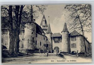 Colombier NE Colombier NE Schloss * / Colombier NE /Bz. Boudry