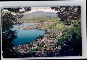 Territet Territet Montreux Clarens x / Territet /Bz. Vevey