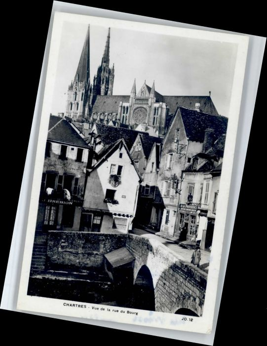 Chartres Eure et Loir Chartres Rue du Bourg * / Chartres /Arrond. de Chartres