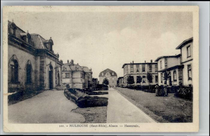 Mulhouse Muehlhausen Mulhouse Hasenrain x / Mulhouse /Arrond. de Mulhouse