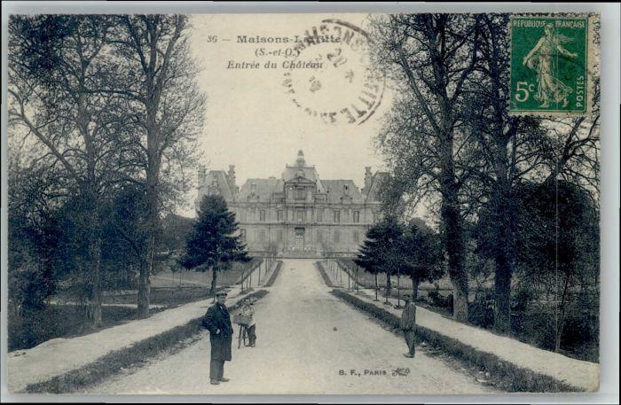 Maisons-Laffitte Maisons-Laffitte Chateau x / Maisons-Laffitte /Arrond. de Saint-Germain-en-Laye