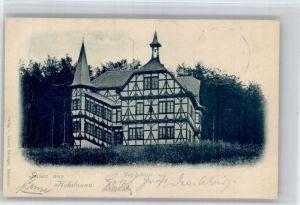 Rohrbrunn Rohrbrunn Jagdschloss x / Weibersbrunn /Aschaffenburg LKR
