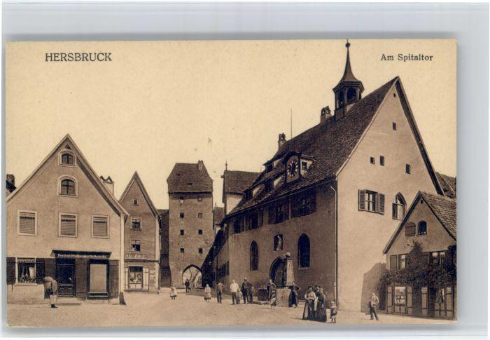 Hersbruck Hersbruck Spitaltor * / Hersbruck /Nuernberger Land LKR