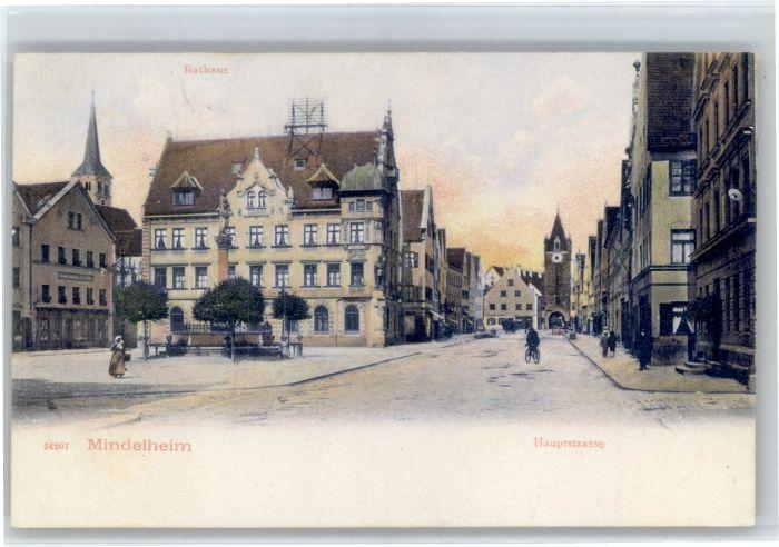Mindelheim Mindelheim Hauptstrasse x / Mindelheim /Unterallgaeu LKR