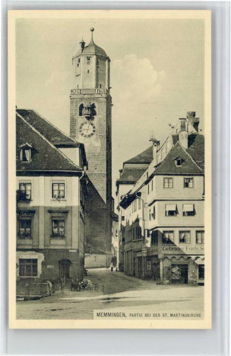 Memmingen Memmingen St Martinskirche * / Memmingen /Memmingen Stadtkreis