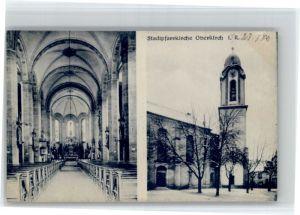 Oberkirch Baden Oberkirch Baden Kirche * / Oberkirch /Ortenaukreis LKR