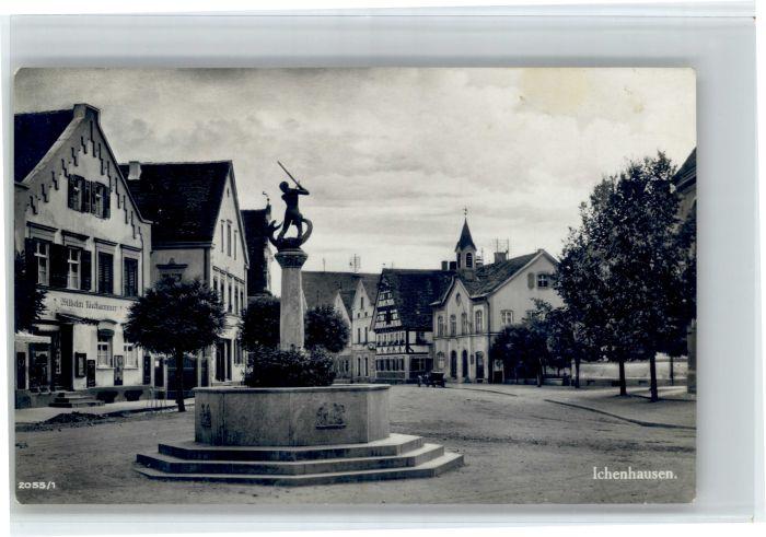 Ichenhausen Ichenhausen Brunnen x / Ichenhausen /Guenzburg LKR