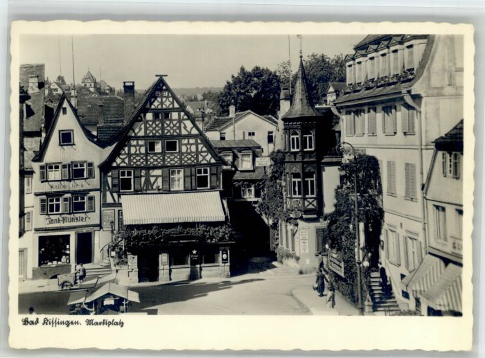 Bad Kissingen Bad Kissingen Marktplatz * / Bad Kissingen /Bad Kissingen LKR