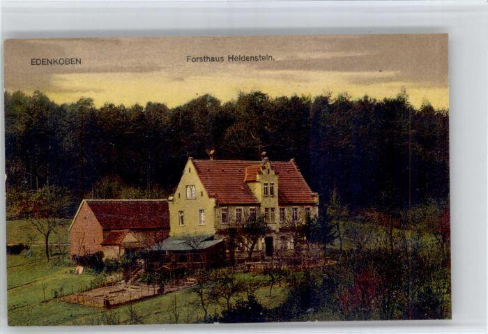 Edenkoben Edenkoben Forsthaus Heldenstein * / Edenkoben /Suedliche Weinstrasse LKR