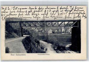 Bad Salzschlirf Bad Salzschlirf Eienbahnbruecke x / Bad Salzschlirf /Fulda LKR