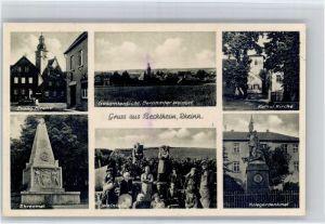 Bechtheim Rheinhessen Bechtheim Kirche Ehrenmal Weinlese Kriegerdenkmal x / Bechtheim /Alzey-Worms LKR