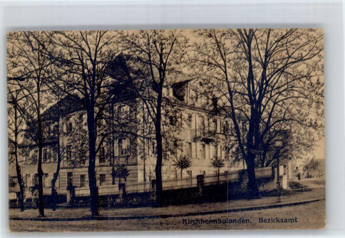 Kirchheimbolanden Kirchheimbolanden Bezirksamt * / Kirchheimbolanden /Donnersbergkreis LKR
