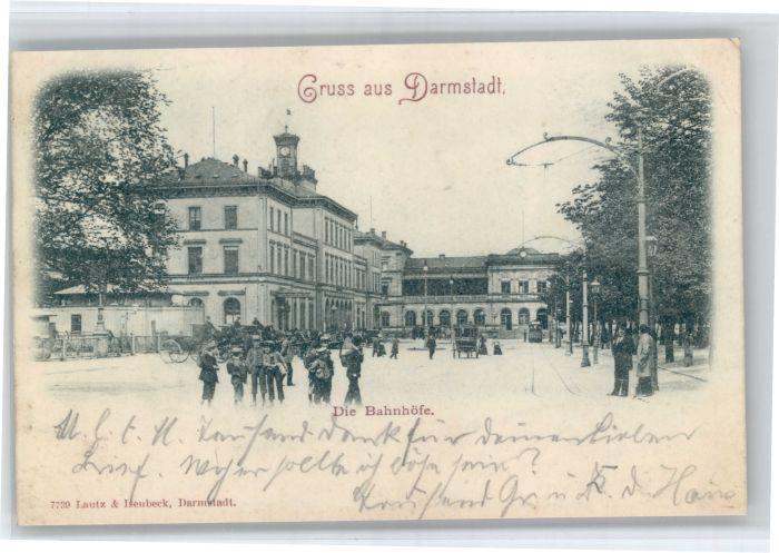 Darmstadt Darmstadt Bahnhoefe x / Darmstadt /Darmstadt Stadtkreis