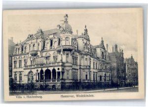 Hannover Hannover Villa Hindenburg Wedekindstrasse x / Hannover /Region Hannover LKR