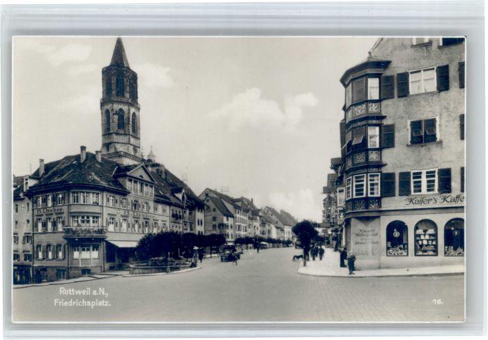 Rottweil Neckar Rottweil Friedrichsplatz * / Rottweil /Rottweil LKR