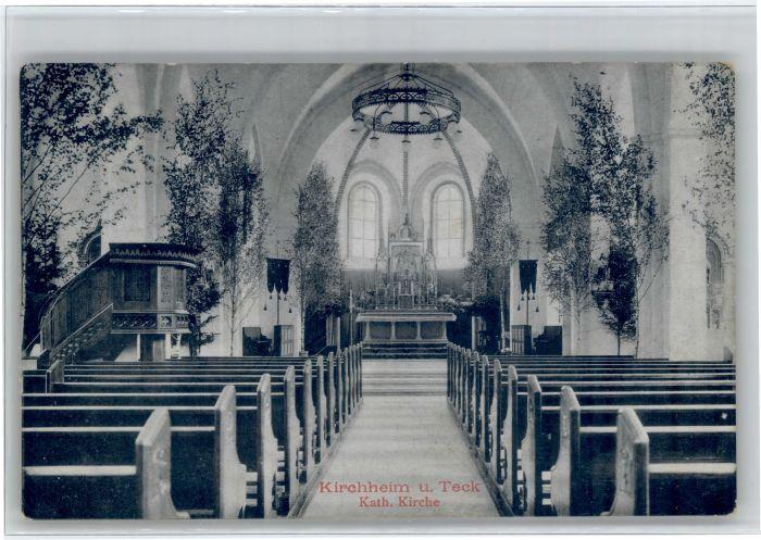 Kirchheim Teck Kirchheim Teck Kirche x / Kirchheim unter Teck /Esslingen LKR
