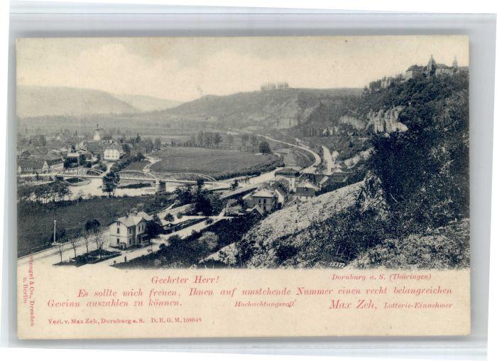 Dornburg Saale Dornburg Saale Staats Lotterie * / Dornburg Saale /Saale-Holzland-Kreis LKR