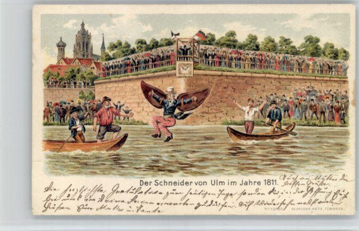 Ulm Donau Ulm Donau Der Schneider x / Ulm /Alb-Donau-Kreis LKR