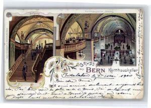 Bern BE Bern Kornhauskeller x / Bern /Bz. Bern City