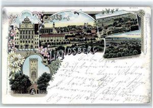 Landsberg Lech Landsberg Rathaus Bayertor x / Landsberg am Lech /Landsberg Lech LKR