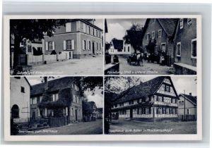 Muckenschopf Muckenschopf Schule Kriegerdenkmal Handlung Stoess Gasthaus zum Bierhaus * / Lichtenau /Rastatt LKR