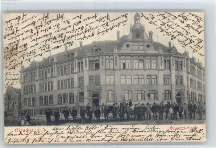 Glauchau Glauchau Sachsen Pestalozzi Schule x / Glauchau /Zwickau LKR