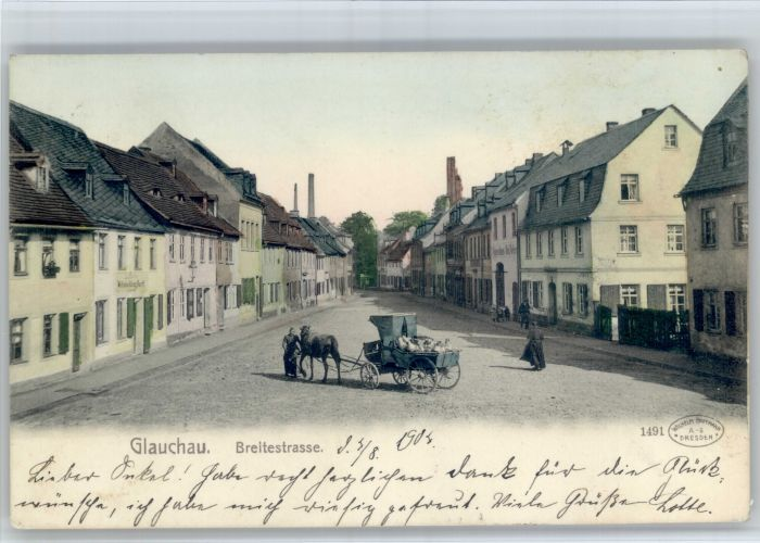 Glauchau Glauchau Breitestrasse x / Glauchau /Zwickau LKR