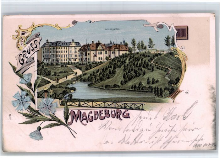Magdeburg Magdeburg Luisengarten x / Magdeburg /Magdeburg Stadtkreis