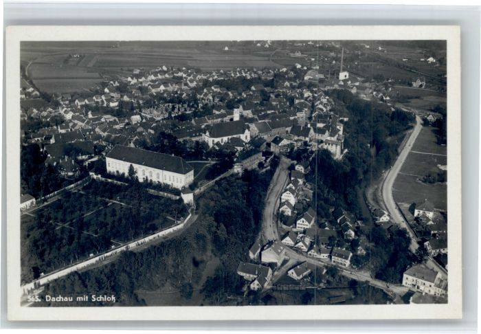 Dachau Dachau Fliegeraufnahme Schloss  * / Dachau /Dachau LKR
