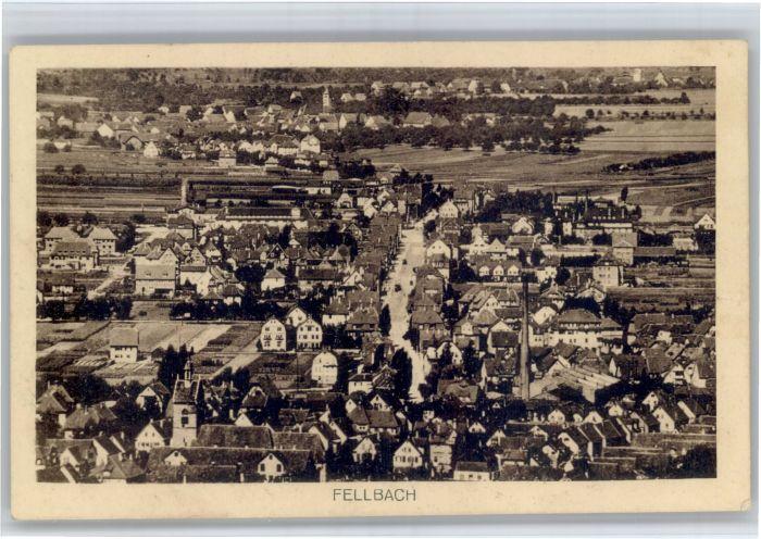 Fellbach Fellbach Fliegeraufnahme x / Fellbach /Rems-Murr-Kreis LKR